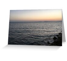 Spasmata beach  Greeting Card