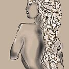 Side Nude - Willow by Trish Loader