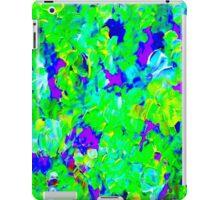"""FLOWER GARDEN ART DECO"" Abstract Painting Print iPad Case/Skin"