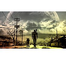 Stroll through the Wasteland Photographic Print