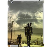 Stroll through the Wasteland iPad Case/Skin