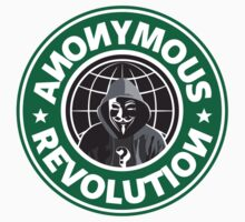 Anonymous Revolution 2014 Kids Tee