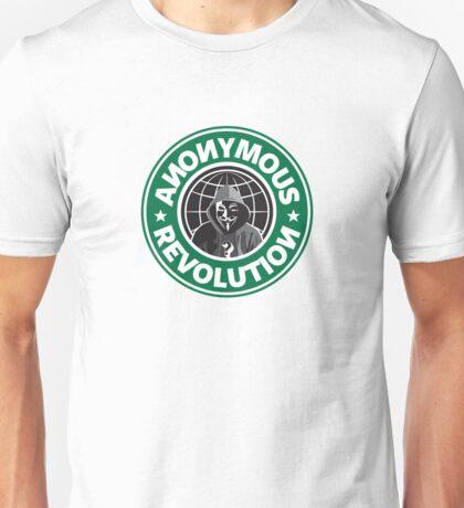 Anonymous Revolution 2014 Unisex T-Shirt