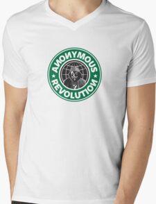 Anonymous Revolution 2014 Mens V-Neck T-Shirt