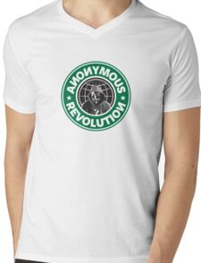 Anonymous Revolution 2014 Mens V-Neck T-Shirt
