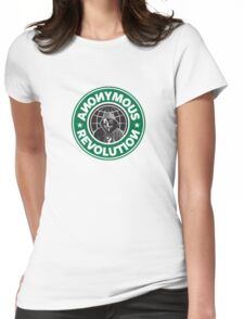 Anonymous Revolution 2014 Womens Fitted T-Shirt