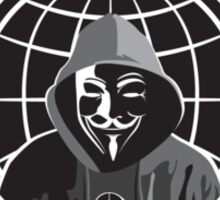 Anonymous Revolution 2014 Sticker
