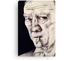Sir Canvas Print