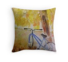 One Summer Afternoon Throw Pillow