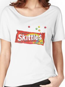 SKITTLES TUMBLR PNG Women's Relaxed Fit T-Shirt