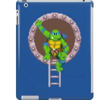 TURTLES IN TIME - LEONARDO  iPad Case/Skin