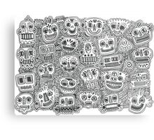 Oodles of Doodles Metal Print