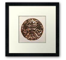 The Bronze Man  Framed Print