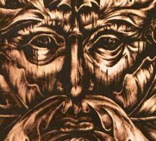 The Bronze Man  Sticker