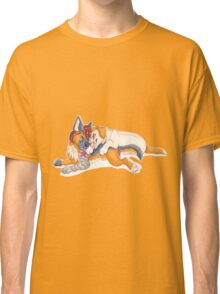 'till the end of the line, canine Classic T-Shirt