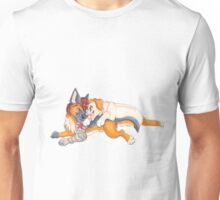 'till the end of the line, canine Unisex T-Shirt