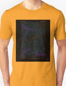 USGS TOPO Map Alaska AK Anchorage D-6 354054 1950 63360 Inverted T-Shirt