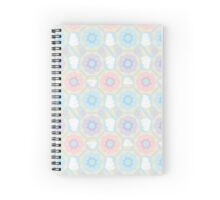 Pastel Sweets Pattern Spiral Notebook