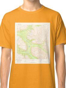 USGS TOPO Map Alaska AK Talkeetna Mountains B-5 359638 1950 63360 Classic T-Shirt