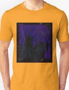 USGS TOPO Map Alaska AK Talkeetna Mountains B-1 359618 1952 63360 Inverted T-Shirt
