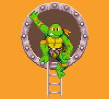 TURTLES IN TIME - MICHAELANGELO  Unisex T-Shirt