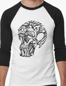CRANIUM 3D Men's Baseball ¾ T-Shirt