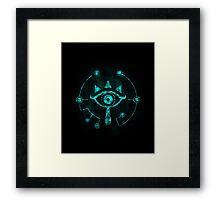 The Eye Of The Shadows Framed Print