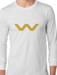 The Weyland-Yutani Corporation Globe - Clean Long Sleeve T-Shirt