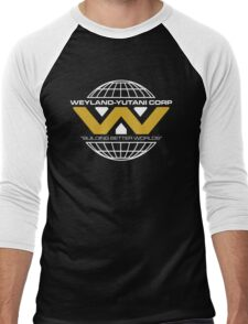 The Weyland-Yutani Corporation Globe - Clean Men's Baseball ¾ T-Shirt