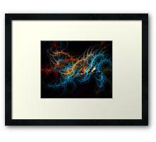Marbles Framed Print
