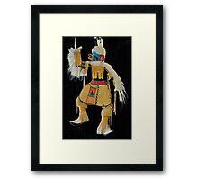 Eagle Kachina Dancer Framed Print