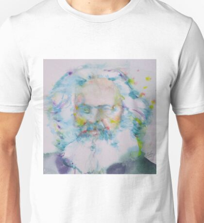 KARL MARX - watercolor portrait Unisex T-Shirt