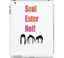 Soul Eater Not! Hair Silhouettes iPad Case/Skin