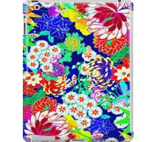 """""""COLORFUL ABSTRACT FLOWER"""" Art Print iPad Case/Skin"""