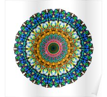 Miracle Mandala Art by Sharon Cummings Poster