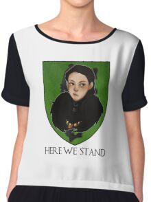 Lady Lyanna of the House Mormont Chiffon Top