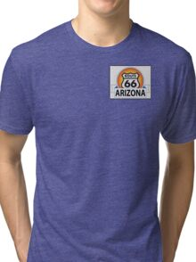 Arizona Route 66 Tri-blend T-Shirt