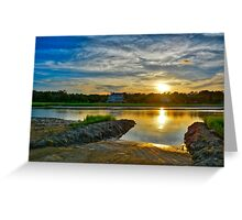 Almost Sunset #2 at Pawleys Island Greeting Card