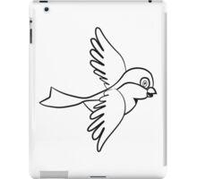 Vogel fliegen süss klein  iPad Case/Skin