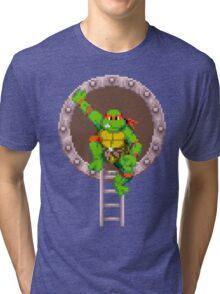 TURTLES IN TIME - RAPHAEL Tri-blend T-Shirt