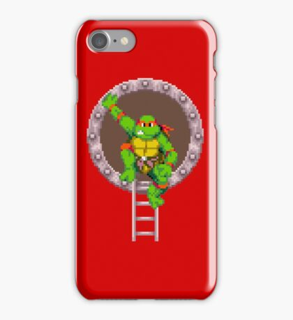 TURTLES IN TIME - RAPHAEL iPhone Case/Skin
