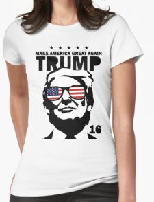 Donald Trump Make America Great Again Shirt Womens Fitted T-Shirt