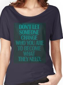 don't let Women's Relaxed Fit T-Shirt