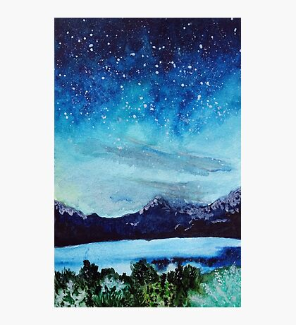 Twilight Sky Photographic Print