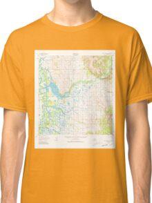 USGS TOPO Map Alaska AK Holy Cross A-1 356013 1952 63360 Classic T-Shirt