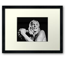 Radio Stars, Andy Ellison Framed Print