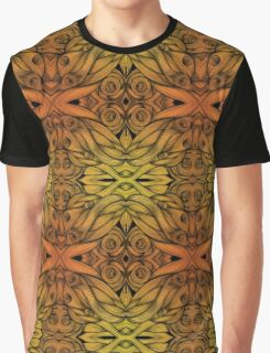 Abstract Flame Whirls Graphic T-Shirt