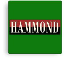 Vintage Hammond Canvas Print