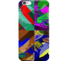 Psychedelic Panels  iPhone Case/Skin