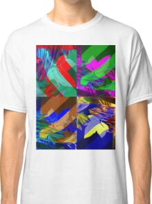 Psychedelic Panels  Classic T-Shirt